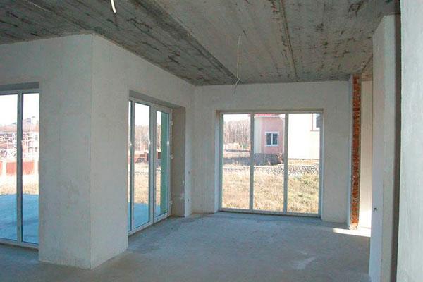 Купить Дом под читовую отделку из качественных материалов в коттеджном городке под Киевом